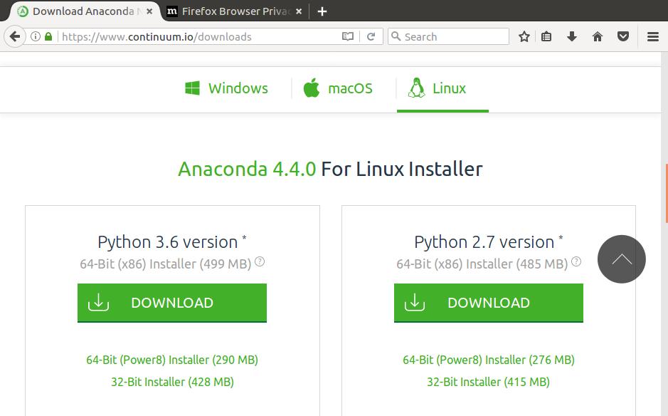 Linux版 のインストール - python jp
